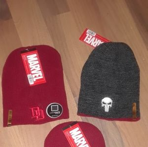 MARVEL WINTER REVSERABLE HAT WITH ORIGINAL TAGS